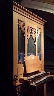 Orgel der Pfarrkirche St. Johann Baptist in Kammer