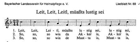 Bayerisches Singen
