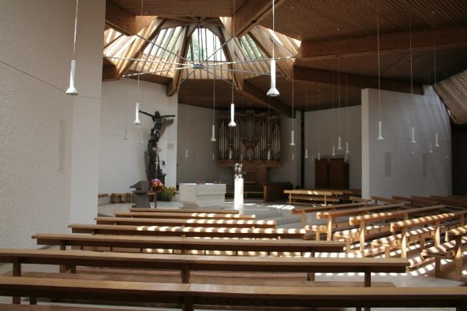 St. Stephan Innenansicht