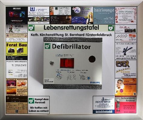 Sponsoren für Defibrillator