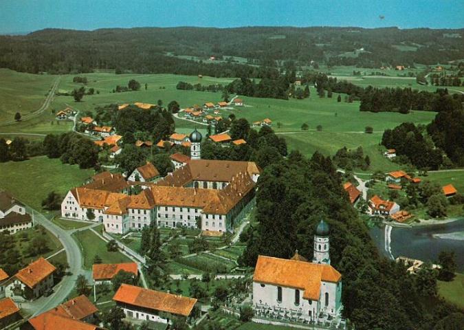 Kloster Beuerberg Vogelperspektive