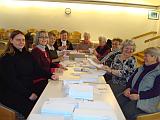 Vorbereitung Caritasbrief in St. Otto
