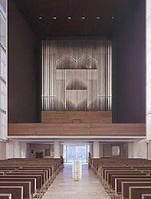 Orgel der Pfarrkirche Herz Jesu in München-Neuhausen