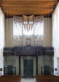 Orgel der Pfarrkirche St. Martin/Moosach in München
