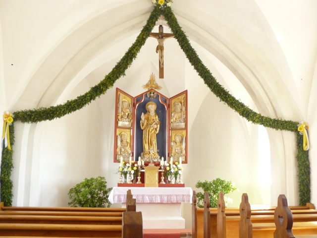 Wiedereröffnung nach Renovierung<br/>Bruder Konradkirche