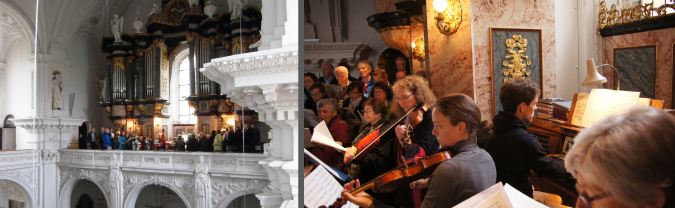 Chor in Ellwangen