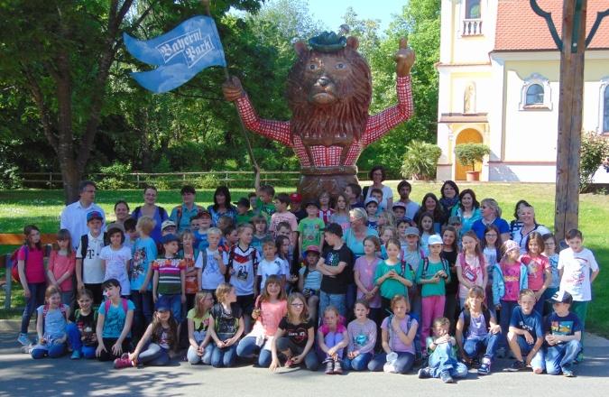 Gruppenbild Ausflug der Erskommunionkinder