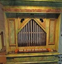 Orgel in Gaden, St. Jakob