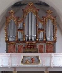 Orgel der Pfarrkirche St. Martin in Obertaufkirchen