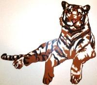 Türbild Tiger