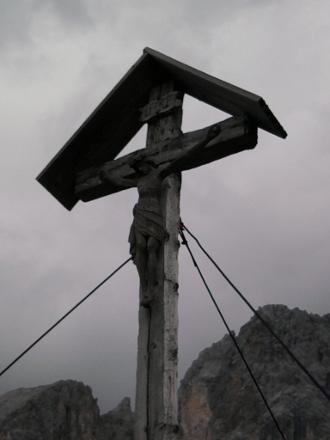 Reparatur Fraunalplkreuz