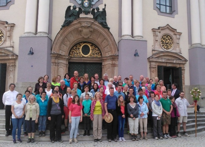 Gruppenbild Wallfahrt 2015