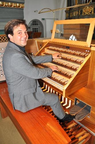 Bild Kirchenmusiker Peter Szeles