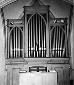 Orgel der Pfarrkirche Leobendorf