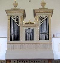 Orgel der Filialkirche Altenhausen-St. Valentin
