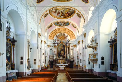 Innenraum Pfarrkirche