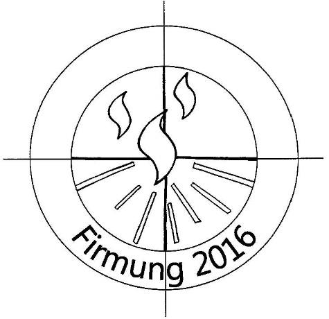 Logo Firmung 2016