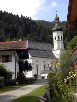 Kirche Sachrang 2015