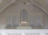 Orgel der Pfarrkirche St. Jakobus in Hörbering