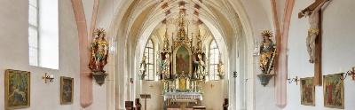 Kirche Kirchstein innen schmal