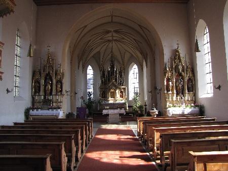Kirche Neufarn innen