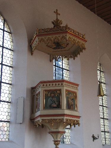 Kanzel Kirche Neufarn