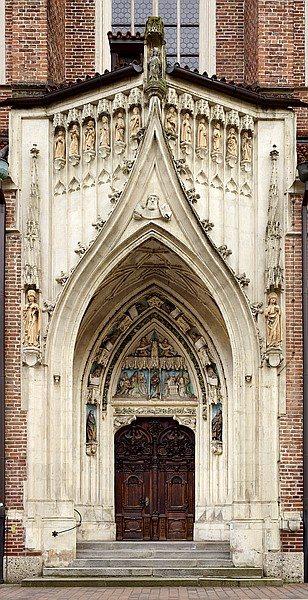 Stiftskirche St. Martin in Landshut, Heilige Pforte