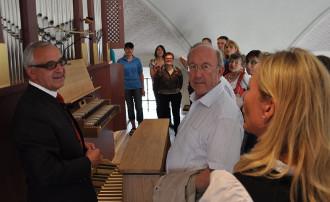 Orgelführung Weishaupt