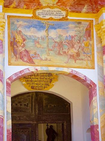 Heilig Kreuz-Kalvarienberg Bad Tölz, Heilige Pforte
