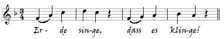 Erde singe-Kirchenchor