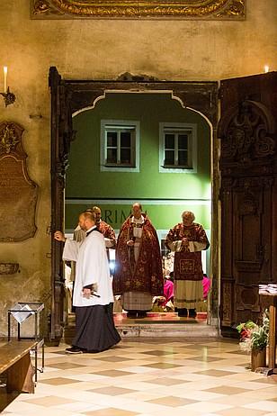 Öffnung der Heiligen Pforte in St. Martin Landshut
