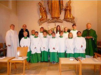 Neue Minis 2015 in St. Otto