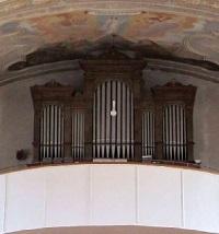 Orgel der Pfarrkirche St. Peter und Paul in Berglern