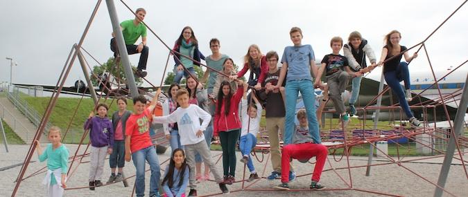 Gruppenfoto Miniausflug
