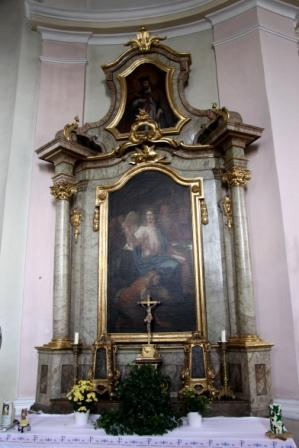 Seitenaltar links
