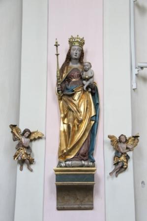 """""""Maria"""" und Leuchterenglein"""