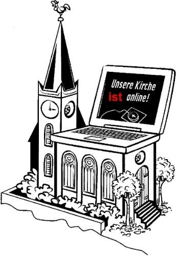 Unsere Kirche ist online