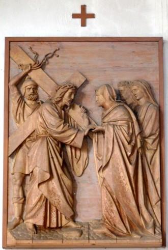 4. Station - Jesus begegnet seiner Mutter, Maria Pfarrkirche Palling