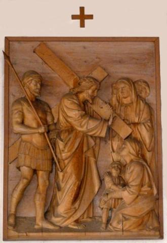 8. Station - Jesus begegnet den weinenden Frauen Pfarrkirche Palling