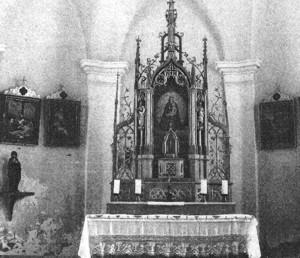 Muttergottes-Altar Genghamer Kircherl, Gemeinde Palling