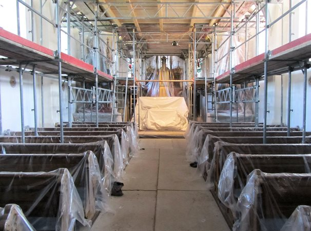 2015 Renovierung Kirche 2