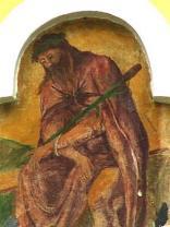 Jesus in der Rast-Rastkapelle<br/>Sr. Eva Maria<br/>Juli 2003