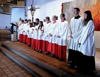 Ministranten in St. Abertus Magnus