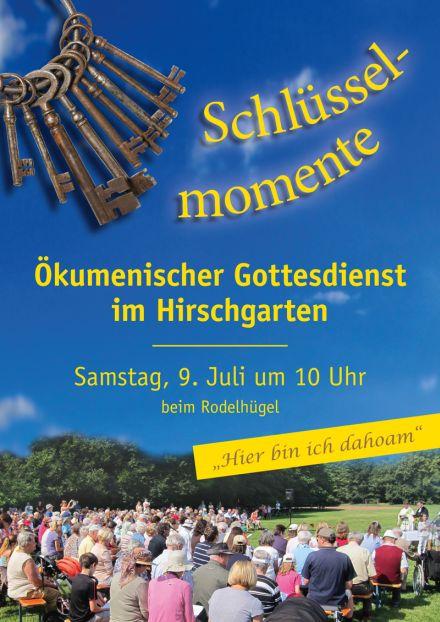 Hirschgartengottesdienst 2016