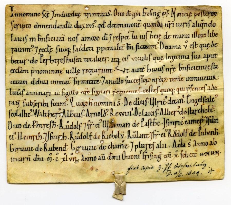 Urkunde 1147