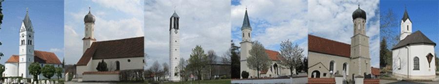 Kirchen der Pfarrei