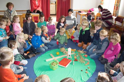 Kinderkirche Erntedank 2014