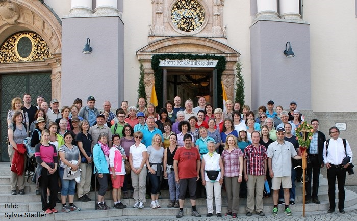 Gruppenbild Langenpreisinger Wallfahrt 2016