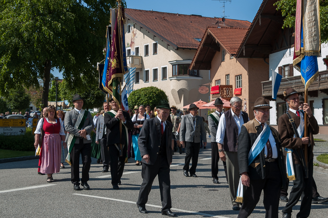 Fronleichnamsprozession in Rott am Inn