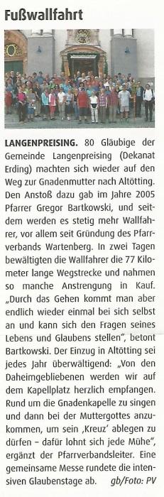 Bericht Kirchenzeitung 05.06.2016